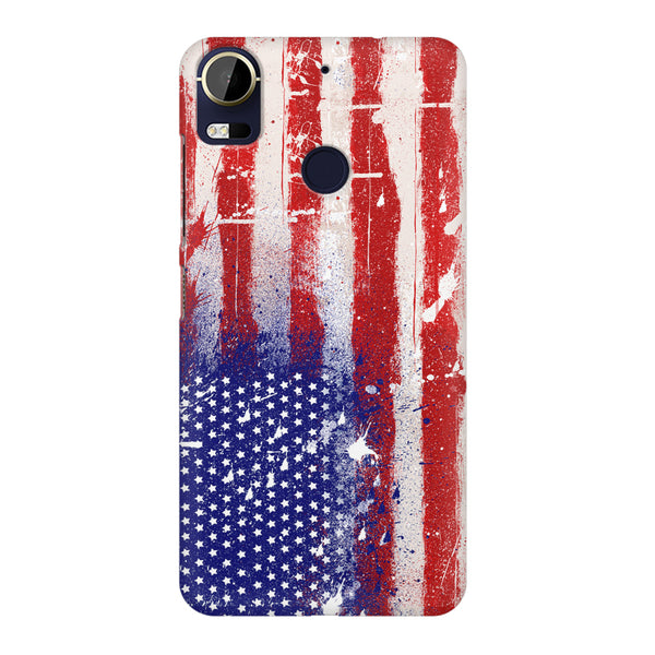 American flag design HTC 10 Pro printed back cover