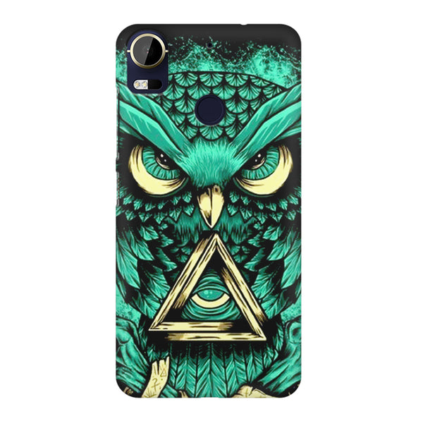 Owl Art design,  HTC 10 Pro  printed back cover