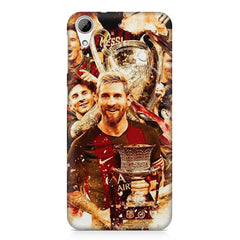 Messi  design,  HTC Desire 626  printed back cover