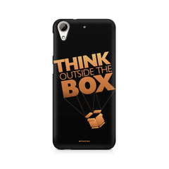 Think Outside The Box- Entrepreneur Lines design,  HTC Desire 626  printed back cover