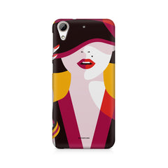 Classy girl  design,  HTC Desire 626  printed back cover