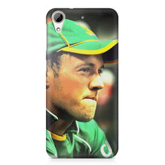 AB de Villiers South Africa  HTC Desire 626  printed back cover