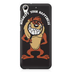 Magnify Your Happiness funny design HTC Desire 626  printed back cover