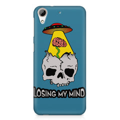 Losing my mind funny design HTC Desire 626  printed back cover