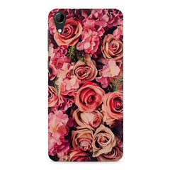 Roses  design,  HTC Desire 728 ( dual sim )  printed back cover