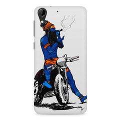 Puff pass  HTC Desire 728 ( dual sim )  printed back cover