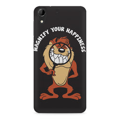 Magnify Your Happiness funny design HTC Desire 728 ( dual sim )  printed back cover