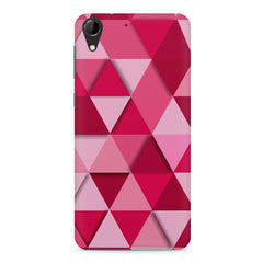 Girly colourful pattern HTC Desire 728 ( dual sim )  printed back cover