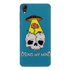 Losing my mind funny design HTC Desire 728 ( dual sim )  printed back cover