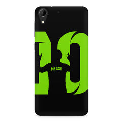 Lionel Messi 10 Victory  design,  HTC Desire 728 ( dual sim )  printed back cover