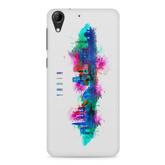 Incredible India Design HTC Desire 728 ( dual sim ) hard plastic printed back cover