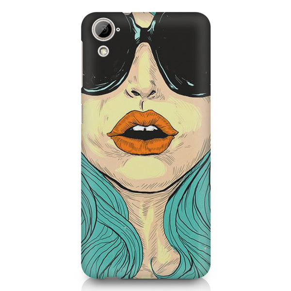 Beautiful Woman Oil Painting HTC 826 (Dual Sim) printed back cover