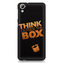 Think Outside The Box- Entrepreneur Lines design,  HTC Desire 820 printed back cover