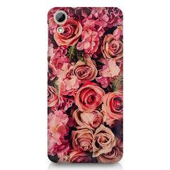 Roses  design,  HTC Desire 820 printed back cover