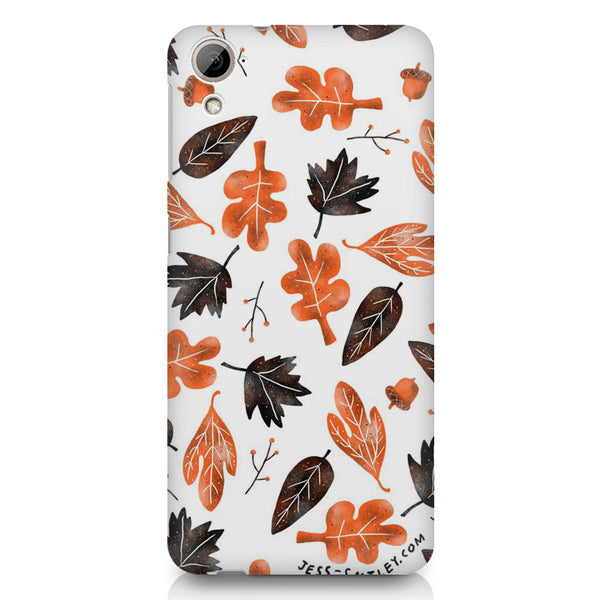 Autumn Leaves HTC 826 (Dual Sim) printed back cover
