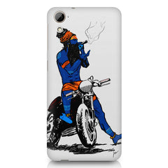 Puff pass  HTC Desire 820 printed back cover