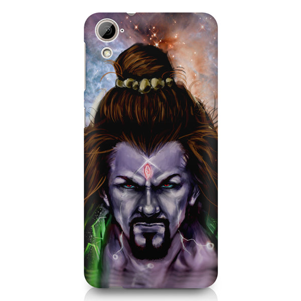 Shiva Anger  HTC 826 (Dual Sim) printed back cover