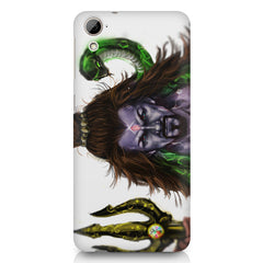Shiva With Trishul  HTC Desire 820 printed back cover