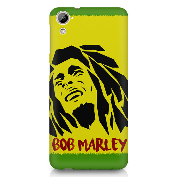 Black bob marley  HTC 826 (Dual Sim) printed back cover