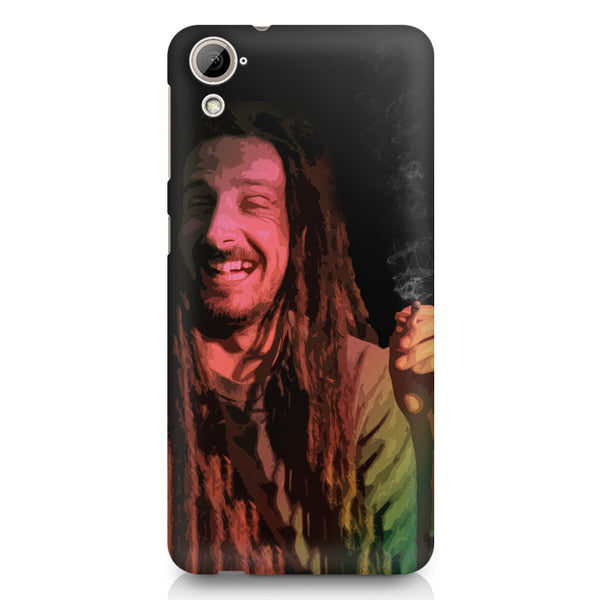 Happy Pot Stoner  design,  HTC 826 (Dual Sim) printed back cover
