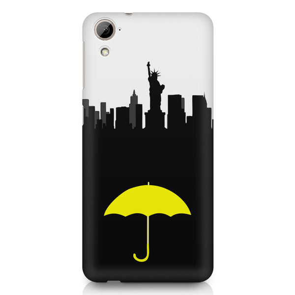 How I Met Your Mother Yellow Umbrella New York design,  HTC 826 (Dual Sim) printed back cover