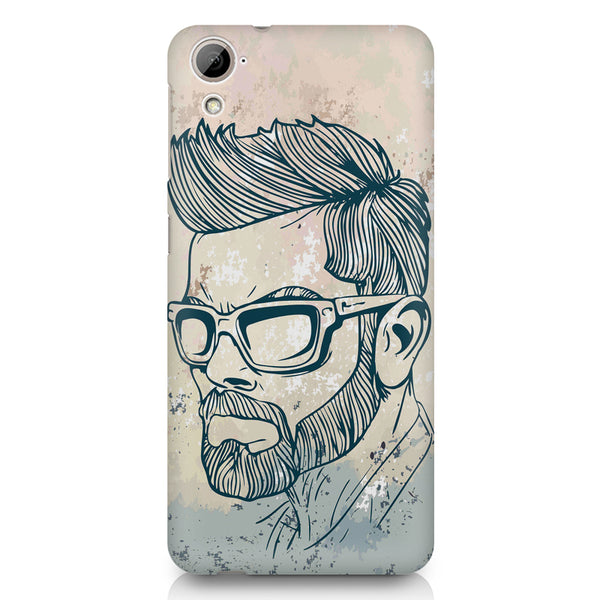 Virat Kohli Stylish Abstract Art design,  HTC 826 (Dual Sim) printed back cover