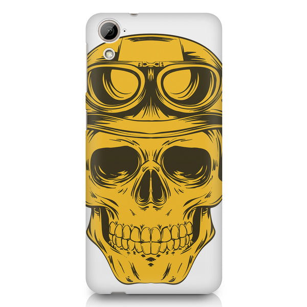 Explorer Skull Concept Art design,  HTC 826 (Dual Sim) printed back cover