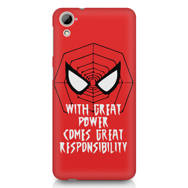 Spider man design HTC 826 (Dual Sim) printed back cover