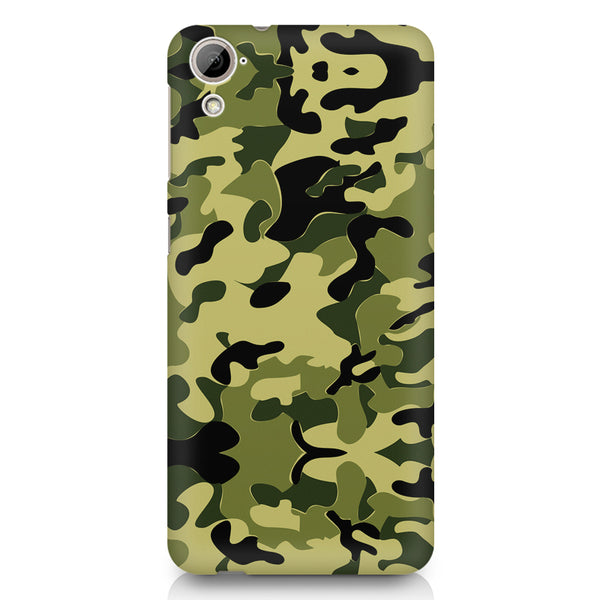 Camoflauge army color design HTC 826 (Dual Sim) printed back cover