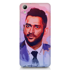 M. S Dhoni suit up design HTC 826 (Dual Sim) printed back cover