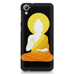 Buddha sketch design HTC Desire 626 printed back cover