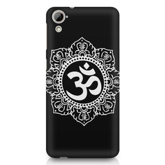 Om rangoli design HTC Desire 626 printed back cover