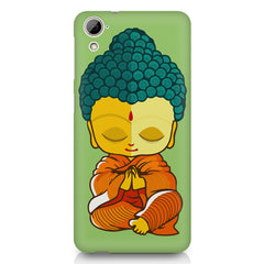 Buddha caricature design HTC 826 (Dual Sim) printed back cover