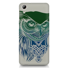 Owl Sketch design,  HTC Desire 820 printed back cover