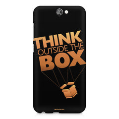 Think Outside The Box- Entrepreneur Lines design,  HTC One A9  printed back cover
