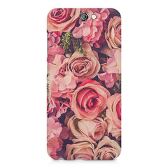 Roses  design,  HTC One A9  printed back cover