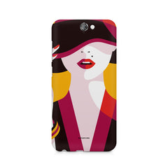 Classy girl  design,  HTC One A9  printed back cover