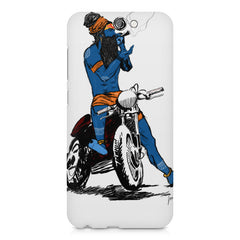 Puff pass  HTC One A9  printed back cover
