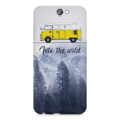 Into the wild for travel Wanderlust people HTC One A9  printed back cover