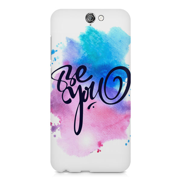 Be yourself design HTC One A9  printed back cover