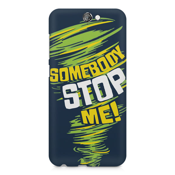 Be Unstoppable design HTC One A9  printed back cover