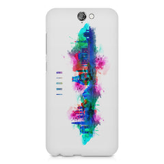 Incredible India Design HTC One A9 hard plastic printed back cover