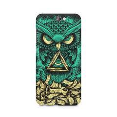 Owl Art design,  HTC One A9  printed back cover