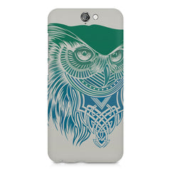 Owl Sketch design,  HTC One A9  printed back cover