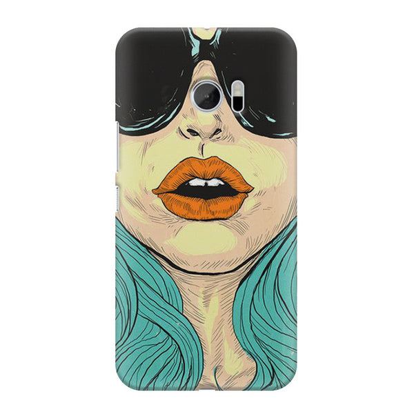 Beautiful Woman Oil Painting HTC M10 printed back cover