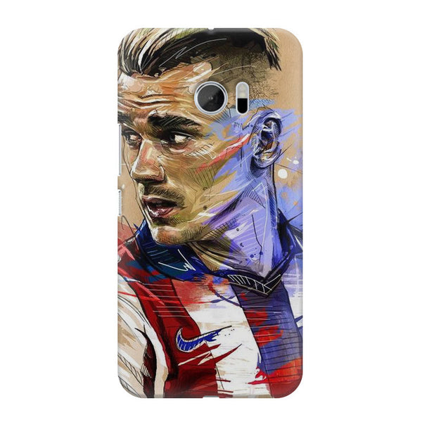 Atlético Madrid HTC M10 printed back cover