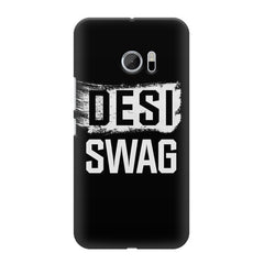 Desi Swag HTC M10 hard plastic printed back cover