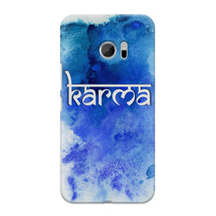 Karma HTC M10 hard plastic printed back cover