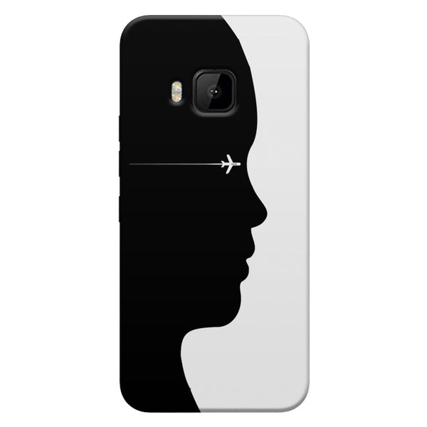 A vision to fly HTC one M9  printed back cover