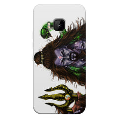 Shiva With Trishul  HTC one M9  printed back cover